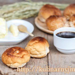 Нежные бездрожжевые  булочки к кофе — очень простой рецепт