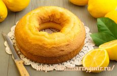 Простой и вкусный лимонный пирог — изумительно нежный