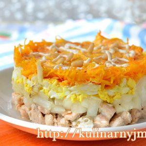 Салат «Лисичкина шубка» с рыбой — вкусно и необычно!
