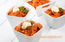 Морковь с чесноком — пикантно, вкусно, легко и самое главное, полезно!!!!