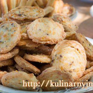 Хрустящее сырное печенье на любой вкус — нравится всем!