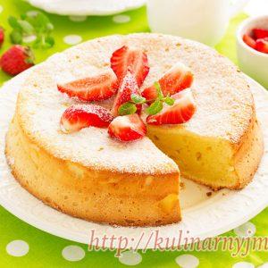 Торт — ватрушка — отличный рецепт для всех любителей творожной выпечки!