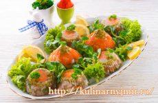 Заливное мясо — секреты вкусного приготовления