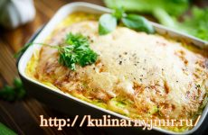 Запеканка из кабачков, яиц и сыра —  проще не бывает…