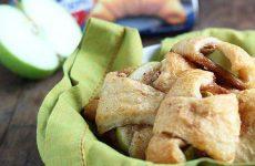 Яблоки в слойке — необычайно вкусное лакомство!!! Готовим быстро!