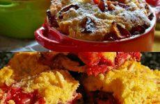 Пироги со сливами — нежные, очень легкие, а какие вкусные!!!