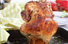 Курица «А-ля фараон» — сидячая курочка, запеченная на банке!!!