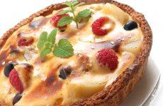 Деревенский пирог с персиками — очень вкусный и простой пирог!