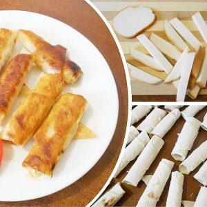 Закусочные трубочки из лаваша с невероятной начинкой! Идеальное сочетание ингредиентов