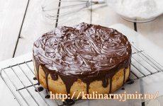 Морковный пирог с шоколадной глазурью — это действительно вкусно и красиво!