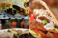 33 варианта начинки из лаваша — вкусно и быстро!