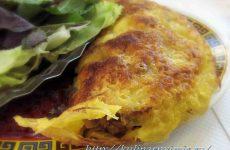 Чебуреки домашние с грибами и сыром — вкусное удовольствие!