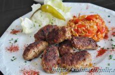 Чевапчичи — вкусные черногорские мясные колбаски!