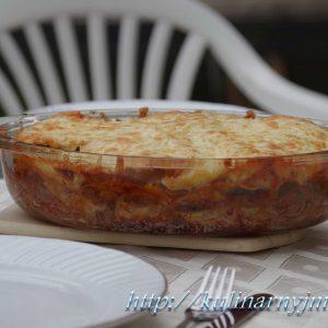Лазанья с овощами — очень простой и вкусный рецепт!
