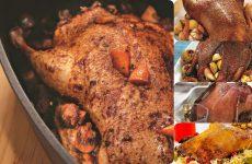 Пять вкуснейших подборок запеченной утки с яблоками — идеальное праздничное блюдо!