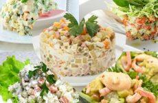 5 лучших рецептов салата оливье — король салатов!!!