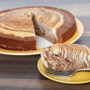 Торт зебра — красивая, ароматная, вкусная красота!