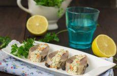 Фаршированная сельдь — вкусная, нежная закусочка!