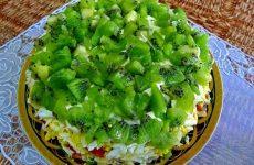 Салат «Изумрудная россыпь» — яркий вид, изысканный вкус!