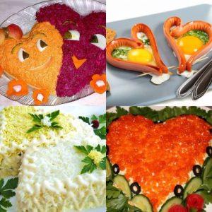 Кулинарные идеи Валентинок — готовим с любовью!!!