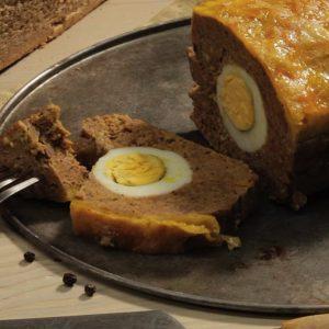 Мясной хлеб с яйцом — восхитительное блюдо для истинных ценителей!