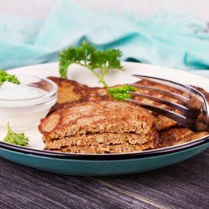 Оладьи из куриной печени — питательное и полезное блюдо!