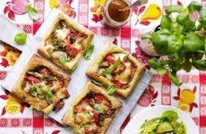 Овощные тарталетки — яркие, вкусные и праздничные!