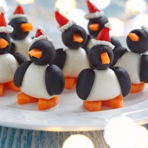 «Пингвины» — необычная закуска за 5 минут, вкусная и красивая!