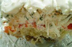 Салат «Океан» — очень интересный вкус!