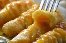 Слойки с мандаринами в карамельном сиропе — хрустящая корочка…объедение!