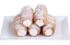 Трубочки с белковым кремом — воздушный и легкий!