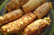 Куриные рулетики — блюдо с изюминкой!