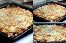 Мясо под шубой — сытное, полезное и необычайно вкусное блюдо!