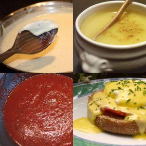 4 вида французских соусов, которые вы можете приготовить сами!