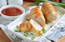 Домашние сосиски с курицей — полезная и вкусная альтернатива магазинным!