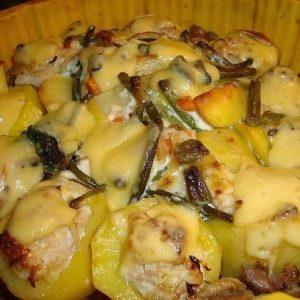 Фаршированная картошка — аппетитная картошечка!