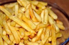 Картофель фри без масла — разлетается «на ура»!