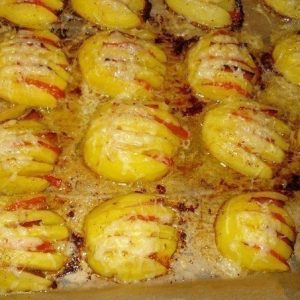 Картофельные ракушки — необычное оформление, но очень вкусно!