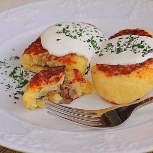 Картофельные зразы с грибами — это очень вкусное простое блюдо!