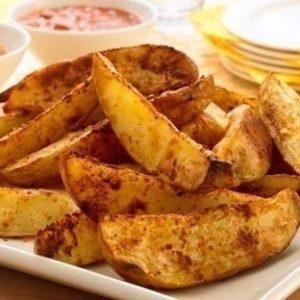 Хрустящие картофельные дольки — самая лучшая закуска!