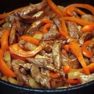 Мясо по-тайски — аппетитный аромат!