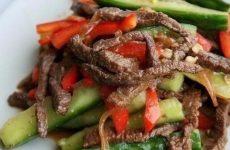 Огурчики с мясом по-китайски — вкуснейшая закусочка!