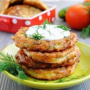Оладьи из кабачков с сыром и чесноком — вкусные оладушки из кабачков, лучший вариант!