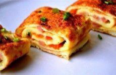 Омлет по-каталонски — красивое и вкусное блюдо, легендарный омлетик!
