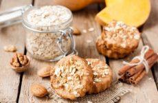 Овсяное печенье с апельсином и корицей — волшебное настроенческое печенье!
