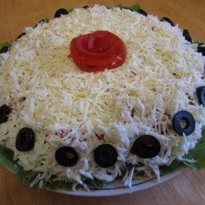 Салат «Айсберг» — вкусный, красивый салатик!