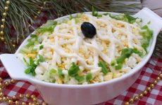 Салат «Кальмары под шубкой» — изысканное простенькое блюдо!