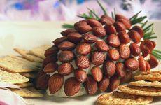 Салат «Миндальная шишка» — гастрономический шедевр с роскошной начинкой!
