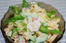 Легкий салат «Воздушный поцелуй» — сытный, вкусный, нежный!