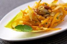 Салат из тыквы — готовится легко, быстро, получается очень вкусным!